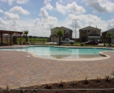 Los Lagos Gold Club, Edinburg, Freeform, Beach Entry, Gold Pebble, Brick Pavers, Commercial