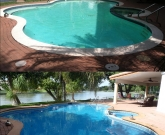 All Glass Tiled Pool, Safety Maindrains, Stained Coping