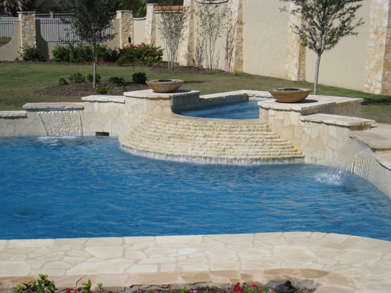 Mcallen Water Features South Padre Island Pool Design